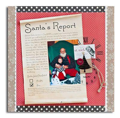 Santa's Report