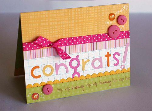 Congrats Bubble Letters